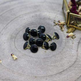 Bouton gem - Night - Atelier brunette ® Atelier BRUNETTE ® - Tissus et mercerie - 1