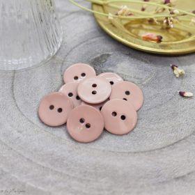 Bouton glossy - Maple - Atelier brunette ® Atelier BRUNETTE ® - Tissus et mercerie - 1
