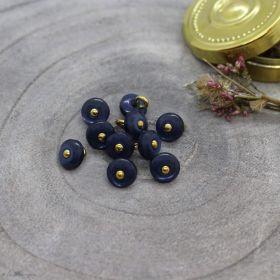 Bouton jewel - Midnight - Atelier brunette ® Atelier BRUNETTE ® - Tissus et mercerie - 1