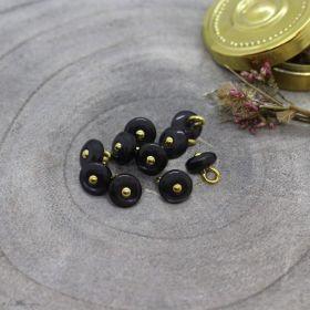Bouton jewel - Night - Atelier brunette ® Atelier BRUNETTE ® - Tissus et mercerie - 1