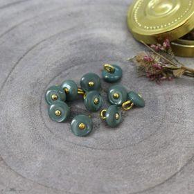 Bouton jewel - Cactus - Atelier brunette ® Atelier BRUNETTE ® - Tissus et mercerie - 1