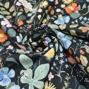 """Tissu coton motif fleuri """"Strawberry Fields"""" - Cotton and steel ® Cotton + Steel Fabrics ® - Tissus - 4"""