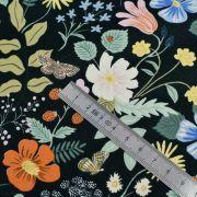 """Tissu coton motif fleuri """"Strawberry Fields"""" - Cotton and steel ® Cotton + Steel Fabrics ® - Tissus - 6"""