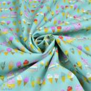 "Tissu coton ""Peppa Pig"" motif glaces - Vert menthe - Oeko-Tex ® et GOTS ® Autres marques - Tissus et mercerie - 3"