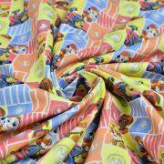 """Tissu coton """"Pat Patrouille"""" - Multicolore - Oeko-Tex ® et GOTS ® Autres marques - Tissus et mercerie - 2"""