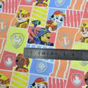 """Tissu coton """"Pat Patrouille"""" - Multicolore - Oeko-Tex ® et GOTS ® Autres marques - Tissus et mercerie - 4"""