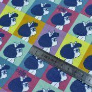"""Tissu coton """"Mafalda"""" - Multicolore - Oeko-Tex ® et GOTS ® Autres marques - Tissus et mercerie - 4"""