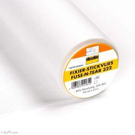 Support Fixier Stickvlies brod thermocollant pour broderies - Vlieseline ® Vlieseline ® - Entoilages et ouate - 1