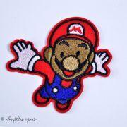 Écusson brodé personnage - Mario