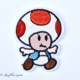 Écusson brodé personnage - Toad le Champignon - 9