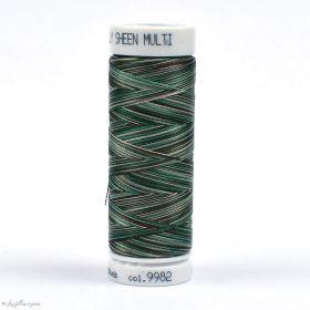 Fil à broder multicolore Polysheen 200m - Mettler ® - vert 9982 METTLER ® - Fils à coudre et à broder - 1