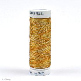 Fil à broder multicolore Polysheen 200m - Mettler ® - jaune 9933 METTLER ® - Fils à coudre et à broder - 1