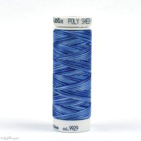 Fil à broder multicolore Polysheen 200m - Mettler ® - bleu 9929 METTLER ® - Fils à coudre et à broder - 1