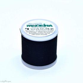 Fil à broder - Madeira Rayonne 9840 - noir 1000 - 200m Madeira ® - Fils à broder et à coudre - 3