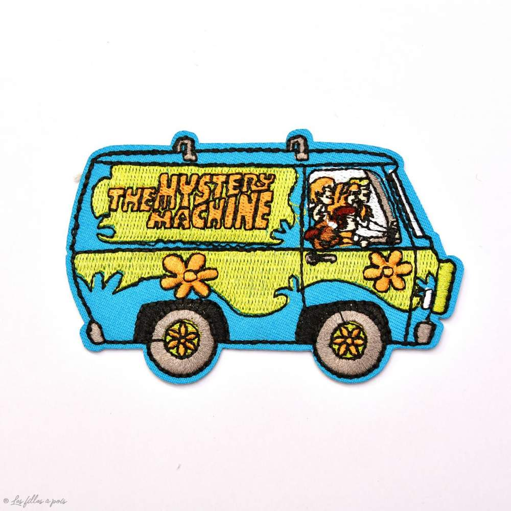 Écusson brodé personnage Scoobidoo - Mystery Machine - 1