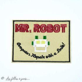Écusson brodé Mr Robot - 1
