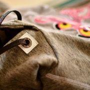 Oeillet strass simili cuir de couture carré - Lot de 2 - 8.5mm - 8