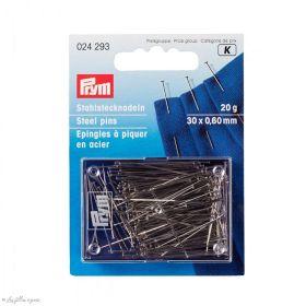 Epingles de couture à piquer en acier  fines - Prym ® Prym ® - Mercerie - 1