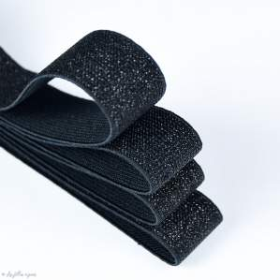 Elastique caleçon boxer glitter - 25mm - 1