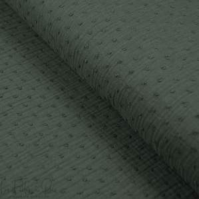 Tissu double gaze de coton plumetis - Oekotex ® Autres marques - Tissus et mercerie - 1