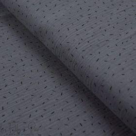 Tissu double gaze de coton motif vermicelle - Oekotex ® Autres marques - Tissus et mercerie - 1