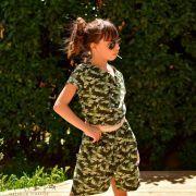 "Tissu coton motif Armée ""Lichen"" - Vert - Oeko-Tex ® Autres marques - Tissus et mercerie - 5"