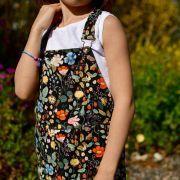 """Tissu coton motif fleuri """"Strawberry Fields"""" - Cotton and steel ® Cotton + Steel Fabrics ® - Tissus - 9"""