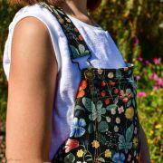 """Tissu coton motif fleuri """"Strawberry Fields"""" - Cotton and steel ® Cotton + Steel Fabrics ® - Tissus - 10"""