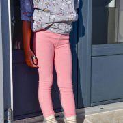 "Tissu jersey motif coeurs ""Daydream"" de Patty Basemi - Rose - Oekotex - AGF ® Art Gallery Fabrics ® - Tissus - 7"