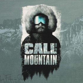 """Panneau de tissu motif homme""""Mountain Adventure"""" - Tons vieux vert et gris enthracite - Oeko-Tex ® Autres marques - Tissus et me"""