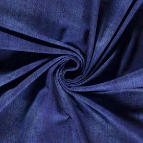 Tissu denim jersey - Bleu - Oeko-Tex ® Autres marques - Tissus et mercerie - 1