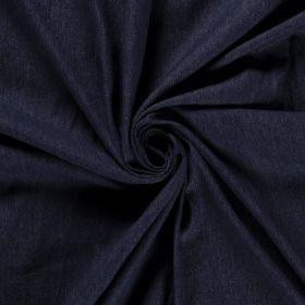 Tissu jeans stretch - Bleu foncé - Oeko-Tex Autres marques - Tissus et mercerie - 1