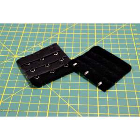 Rallonge soutien-gorge - 55mm - Noir