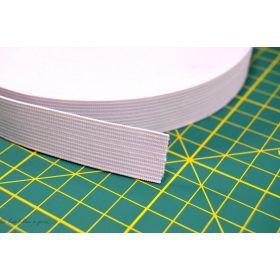 Elastique souple de couture blanc 20mm