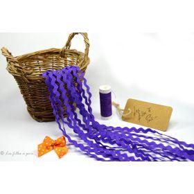 Croquet violet foncé 5mm