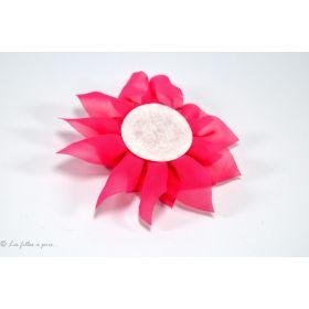 Fleur de lotus en tulle 11cm - Jaune