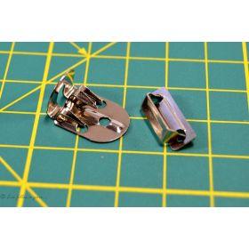 Agrafes et barrettes métal - Lot de 4 sets - 1