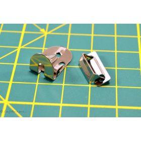 Agrafes et barrettes métal - Lot de 4 sets