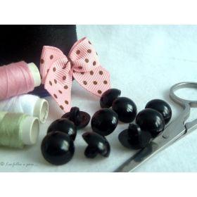 Bouton boule oeil - Noir - 1