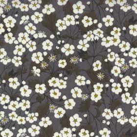 Tissu coton Mitsi - Bleu gris - Liberty Of London ®