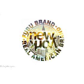 Transfert New York Original Brand - Multicolore - Thermocollant
