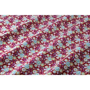 TISSU COTON CANDYFLOWER RED - COLLECTION CANDY BLOOM - TILDA ®