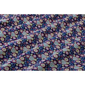 TISSU COTON CANDYFLOWER BLUE - COLLECTION CANDY BLOOM - TILDA ®