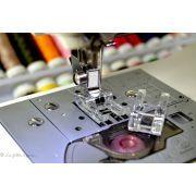 Pied de biche machine à coudre ouvert transparent - 2