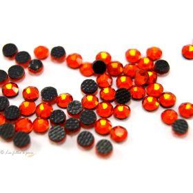 Strass hotfix SS6 - Orange - Thermocollant
