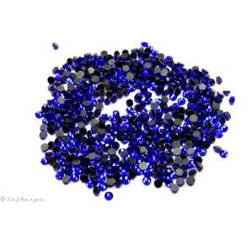 Strass hotfix SS10 - Bleu saphir -  Thermocollant