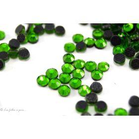 Strass hotfix SS10 - Vert - Thermocollant