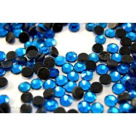 Strass hotfix SS10 - Bleu azur - Thermocollant