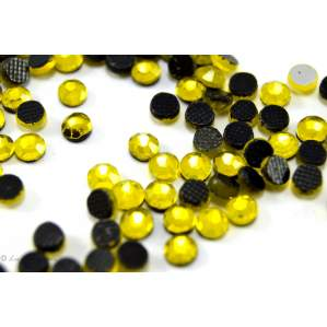 Strass hotfix SS16 - Jaune - Thermocollant