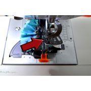 Pied fronceur mécanique - Désactivation du fronçage